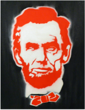 Illustration of Abraham Lincoln