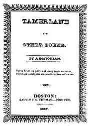 Cover of Tamerlane and Other Poems by a Bostonian